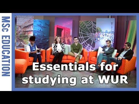 Essentials for studying at Wageningen University & Research