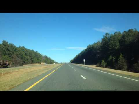 Driving Time-Lapse: U.S. Route 64 East - January 19th, 2015