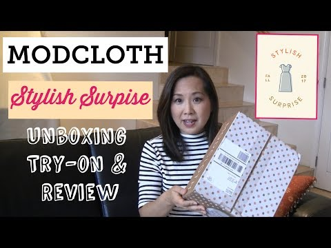Modcloth | Stylish Surprise - Fall 2017 | Unboxing, Try-On & Review