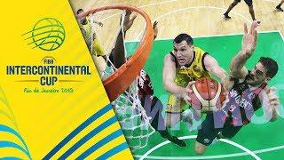 San Lorenzo vs. AEK - Game Highlights - FIBA Intercontinental Cup 2019