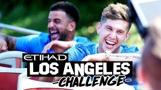 STERLING & GUNDOGAN VS WALKER & STONES! | Hollywood Challenge