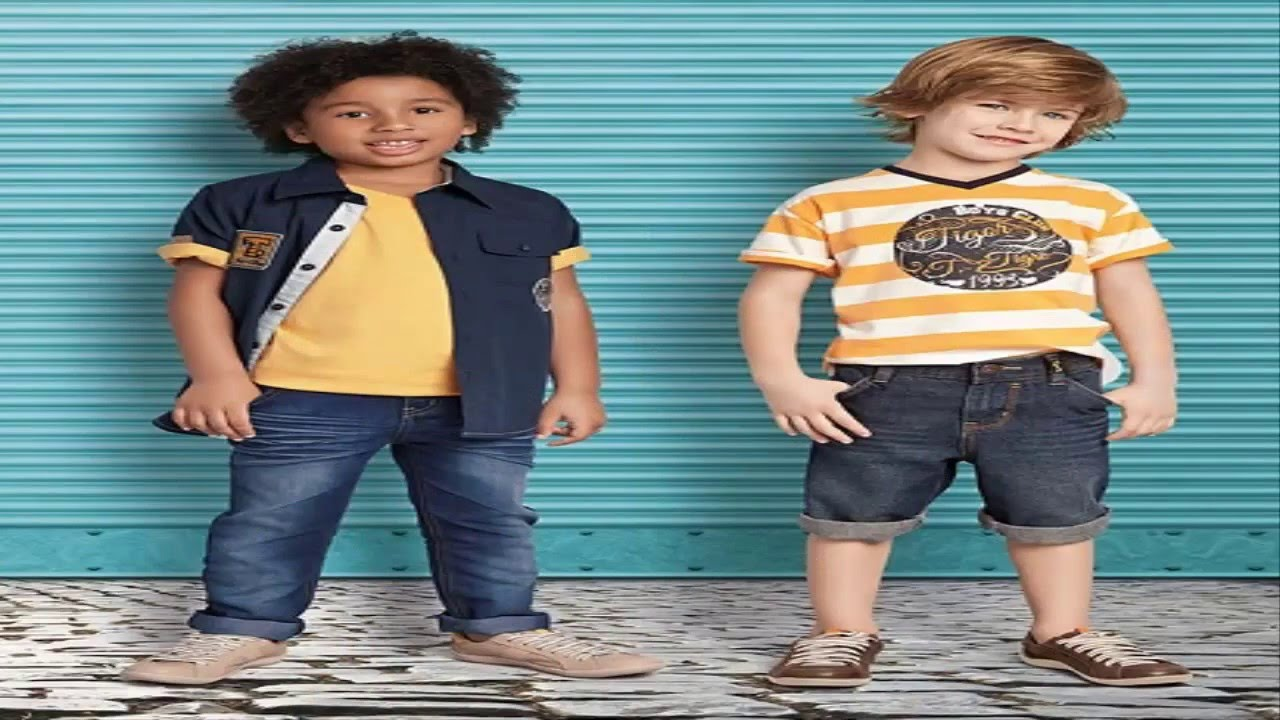 1ac77812740c1 صور احدث صيحات صيف موضة الاطفال 2016 - YouTube