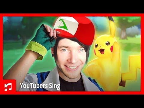 DanTDM Sings The Pokemon Theme Song (FULL VERSION)!