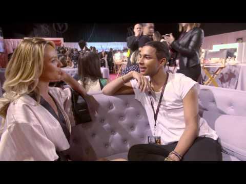 Victoria's Secret: Olivier Rousteing meets Candice Swanepoel