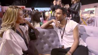 Victoria's Secret: Olivier Rousteing meets Candice Swanepoel キャンディススワンポール 検索動画 15