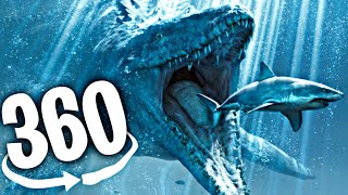 🔴 VR 360° Video | SEA MONSTERS ROLLER COASTER | Virtual Reality Experience