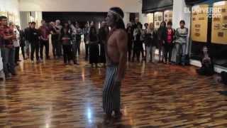 Comunidades Shuar y Achuar exponen sus costumbres en casa Humboldt