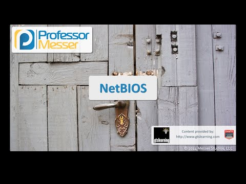 NetBIOS - CompTIA Security+ SY0-401: 1.4