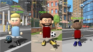 The Real Juggle - Pro Freestyle Football Android Gameplay