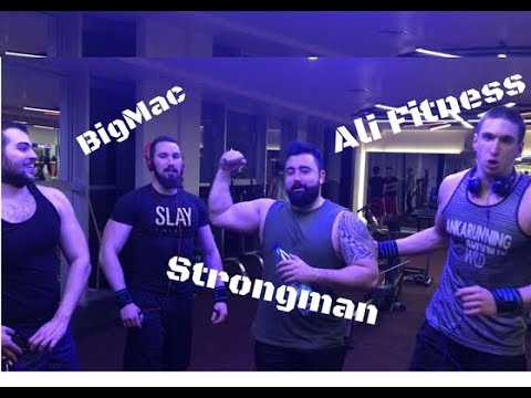 STRENGTH WARS TÜRKİYE - 100KG 100 TEKRAR  BENCH PRESS - ALİ FİTNESS - STRONGMAN - BIGMAC