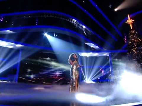 X factor final 2008 Alexandra Burke and Beyonce Knowles