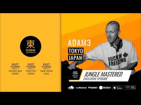 Jungle Mastered by Adam3 // Exclusive Episode for EAST FORMS Drum&Bass