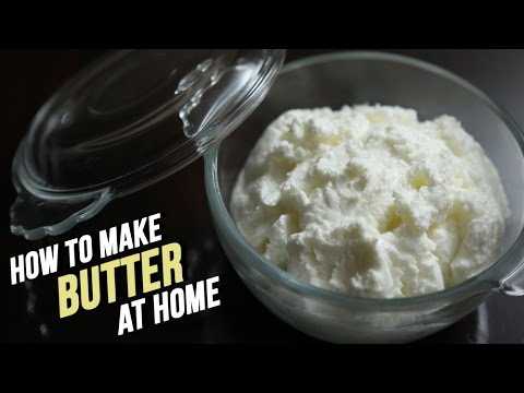 How To Make Butter At Home | Homemade Butter Recipe By Ruchi Bharani | Basic Cooking