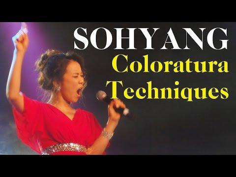SoHyang Coloratura Techniques 소향 콜로라투라 테크닉
