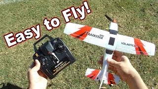 Easy Beginner RC Airplane // Mini Trainstar 😊✈️