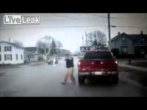 Police Shooting In Tomah Wisconsin [Dash Cam]
