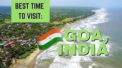 BEST time of year to visit GOA, INDIA | Travel Vlog Ep. 36 | Arambol Happy Panda Hostel
