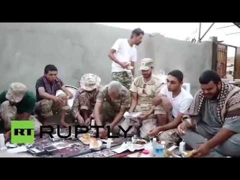 Libya: GNA forces gain back territory in IS stronghold of Sirte *EXCLUSIVE*