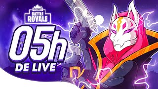 FORTNITE: 5 HORAS  ‹ EduKof LIVE STREAM ›
