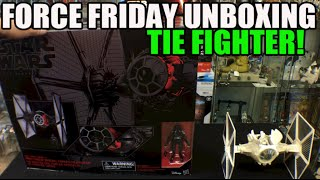 Unboxing: Star Wars TIE Fighter The Black Series First Order Special Forces #ForceFriday