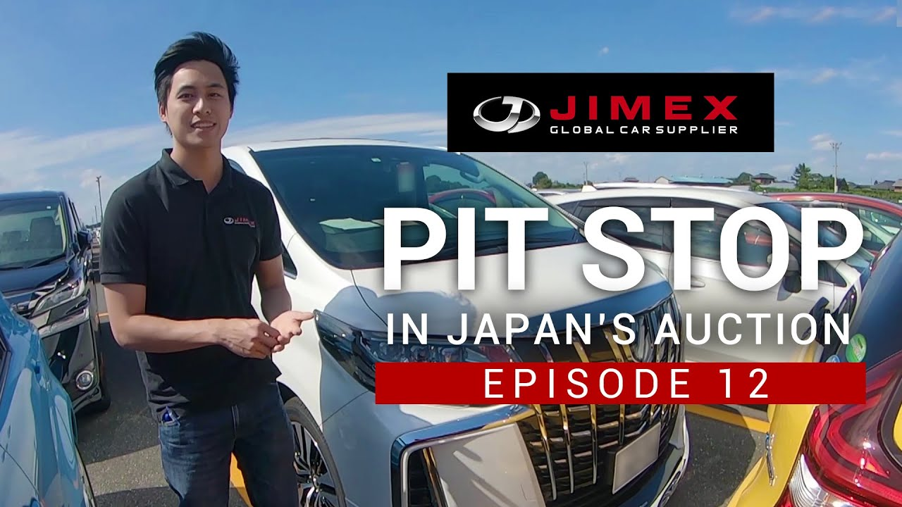 MPV car [PIT STOP in Japan's Auction - Episode 12] - MPV Cars from Japan's Auction