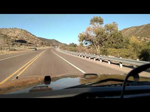 Singing Highway in New Mexico