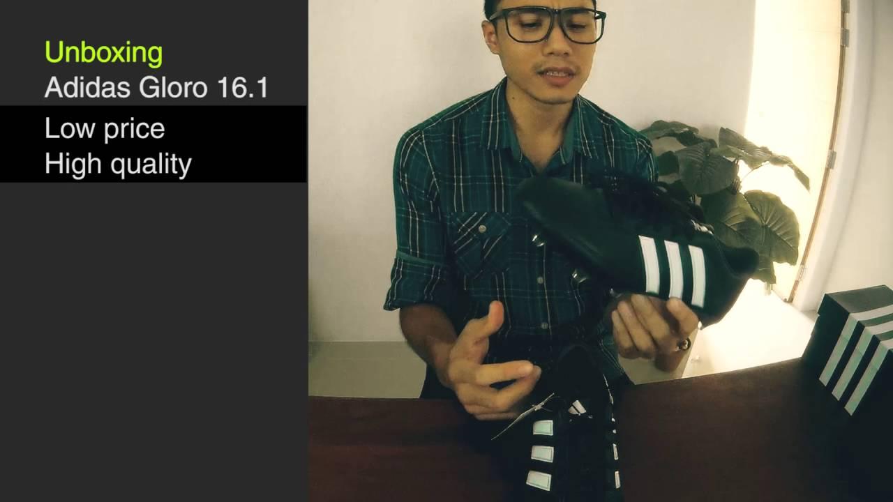 เปิดกล่อง Adidas Gloro 16.1
