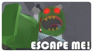 """Nyerah saya 😋""   Roblox Escape Zombie Asylum Indonesia"
