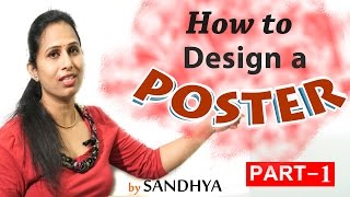 LEARN FREE ENGLISH || POSTER MAKING||PULIHORA POTLAM