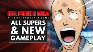 One Punch Man: A Hero Nobody Knows Gameplay & ALL SUPER MOVES So Far