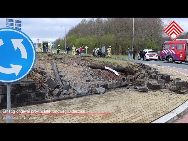 Ernstig ongeval Rondweg Oldenzaal