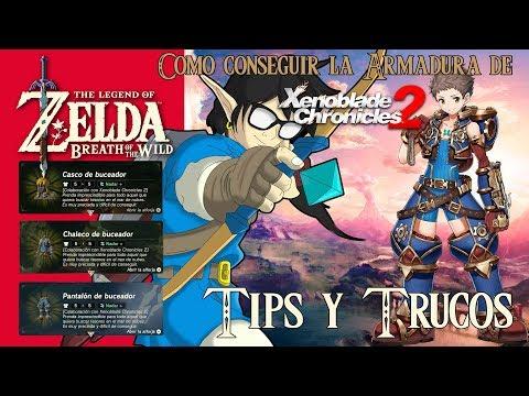 Zelda: Breath of the Wild   Tips y Trucos  Como conseguir la Armadura de Xenoblade Chronicles 2