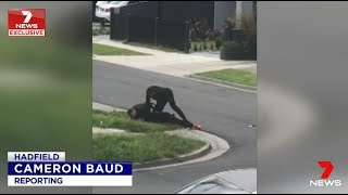 Seven News EXCLUSIVE. Armed African Arrest Criticised By Marxists.(Hadfield)