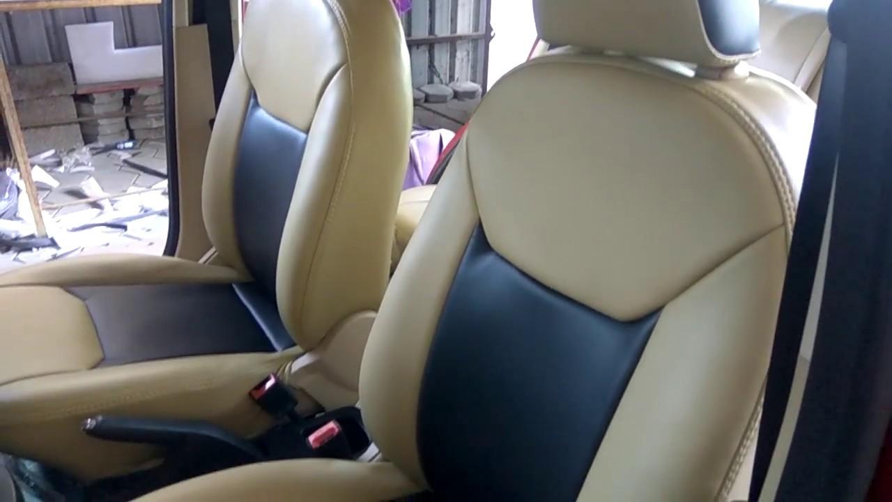 figo aspire car seat covers ford figo aspire interior accessories youtube. Black Bedroom Furniture Sets. Home Design Ideas