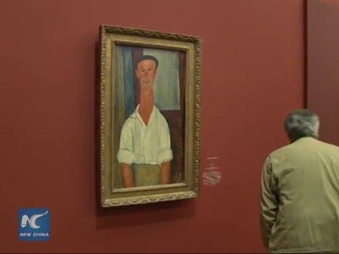 Exhibition of legendary painter Modigliani...