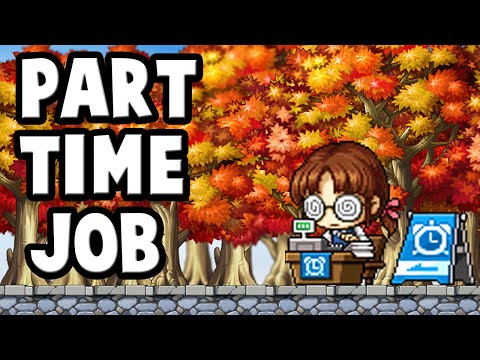 [MapleStory] Part-Time Jobs ! Why You Should Do Them !!