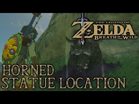 Zelda Breath Of The Wild - Horned Statue Location - Stamina and Heart Vessel Exchange