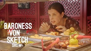 Back Off My Buffet | Baroness von Sketch Show