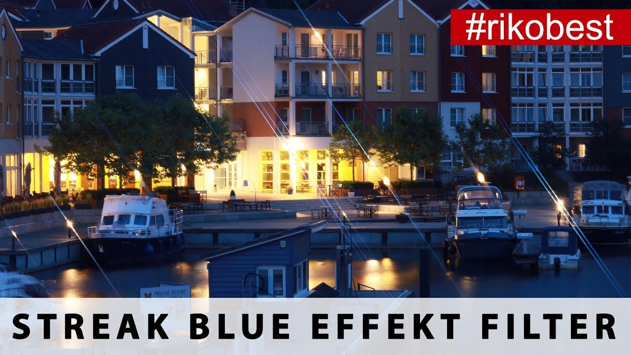 Streak Blue Foto Filter - Lens Flare Filter von Kase im Test - Lens Flare Effekte erzeugen.