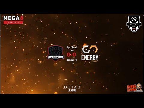Mega8 weekly action Aperture Gaming vs Energy Esports