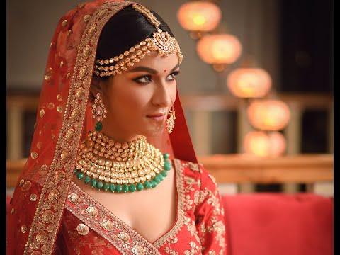 Indian Bridal Makeover || Jitu Barman || Sabyasachi