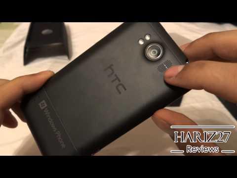 HTC Titan (x310e) Unboxing und Overview (Windows Phone 7.5 Mango)