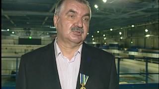 Награждение журналиста Михаила Араловца из Челябинска медалью Николая Озерова