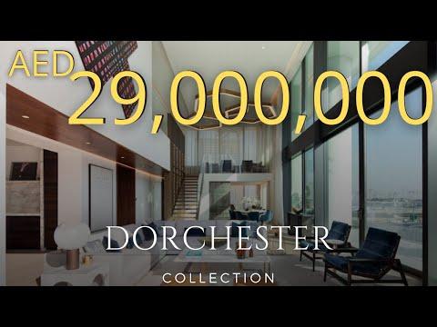 INSIDE A 29 MILLION PENTHOUSE AT THE RESIDENCES, DORCHESTER COLLECTION  [ DUBAI 2021]