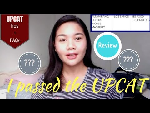 HOW I PASSED THE UPCAT: TIPS + Q&A