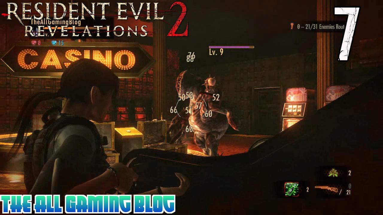 Resident evil прохождение казино играть автоматы игровые онлайнi