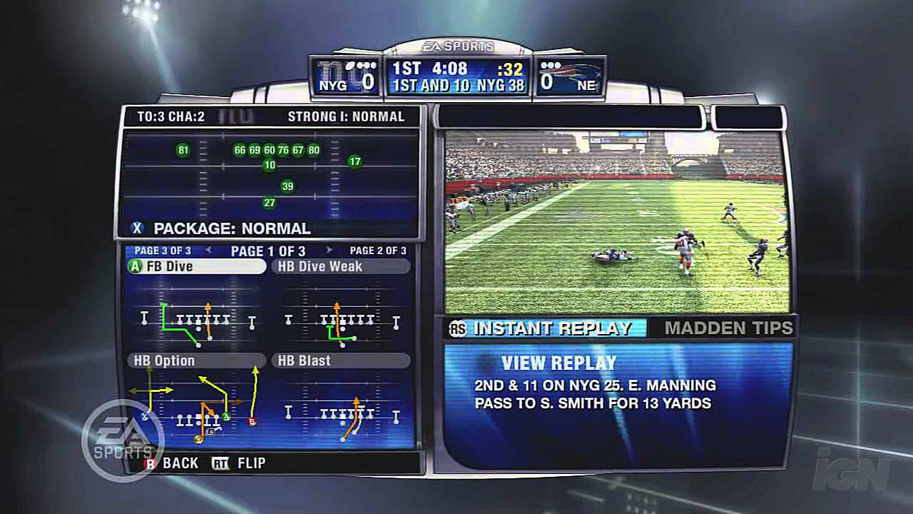 Madden NFL 09 Xbox 360 Gameplay - Gameplay