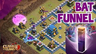 New BAT FUNNEL Technique in Clash of Clans!