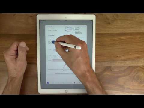 Apple Pencil: pdf-Dokumente direkt in der Apple Mail App annotieren
