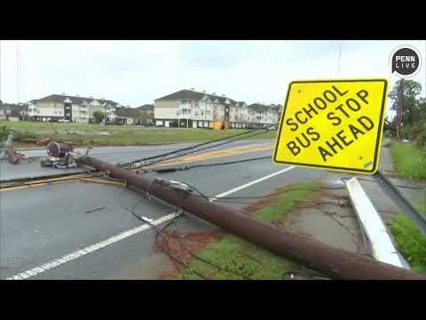 Deadly Hurricane Michael leaves damage across Florida Panhandle